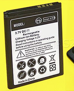 High Capacity 1100mAh 3.7V Extra Standard Replacement Battery for Alcatel Big Easy A383G Tracfone Cellphone with Additional Valueable Accessory See Picture